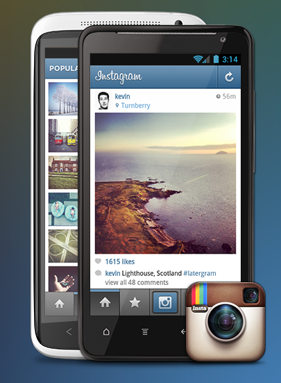 Instagram is now available for your android phone more than mary ok malvernweather Gallery