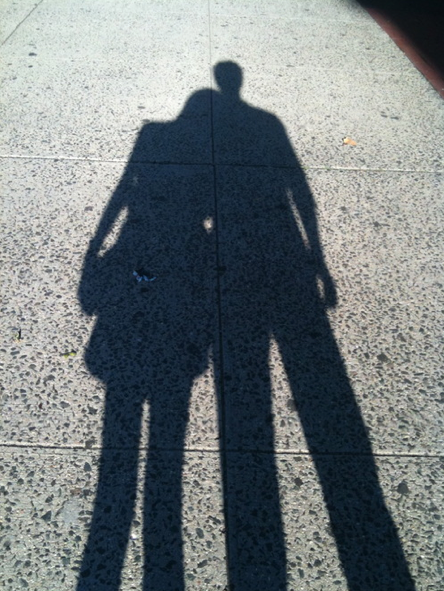Mary and boyfriend shadow
