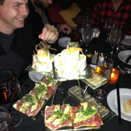 Mastro's Penthouse Sushi Tower