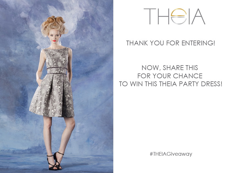 THEIA dress giveaway