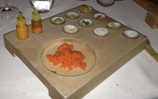 Eleven Madison Park Tasting Menu Carrots