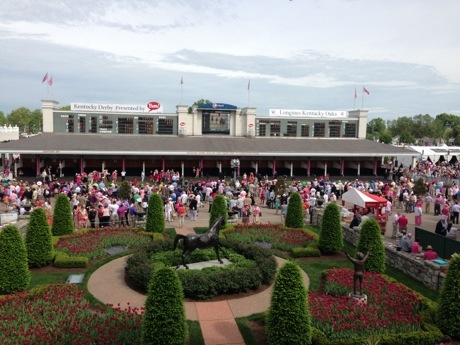 Kentucky Derby Churchill Downs Paddock