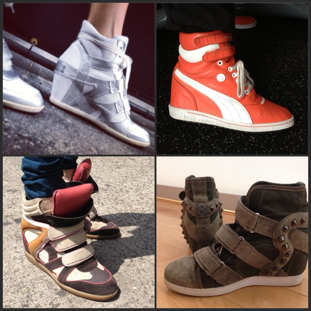 Wedge Sneakers Spring 2013