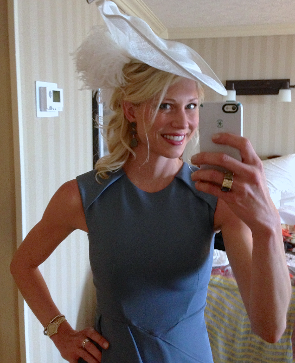 Mary Rambin Kentucky Derby hotel room