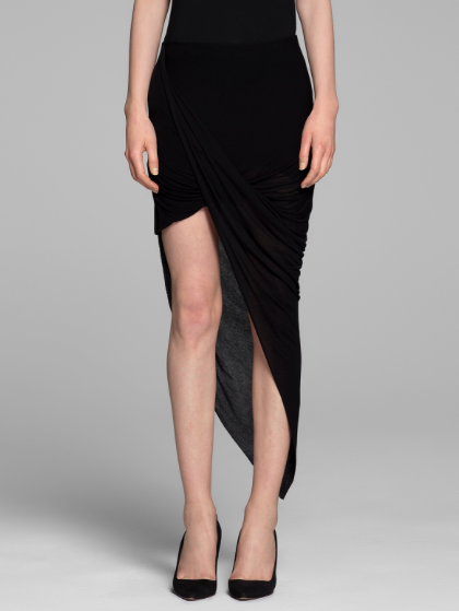 Helmut Lang Kinetic Wrap Skirt