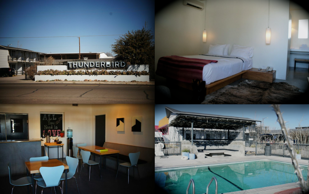 Thunderbird Inn Marfa Texas