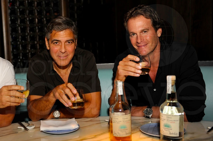 George Clooney and Rande Gerber Casamigos Tequila