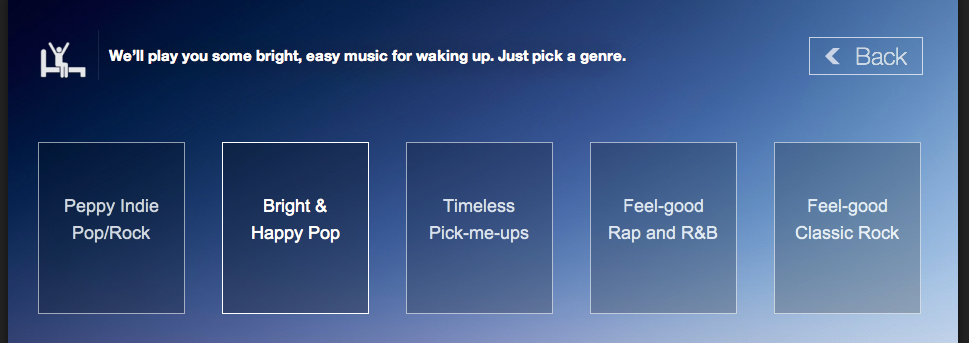 Songza mixes