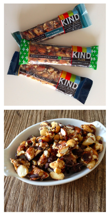 KIND Bars as snacks