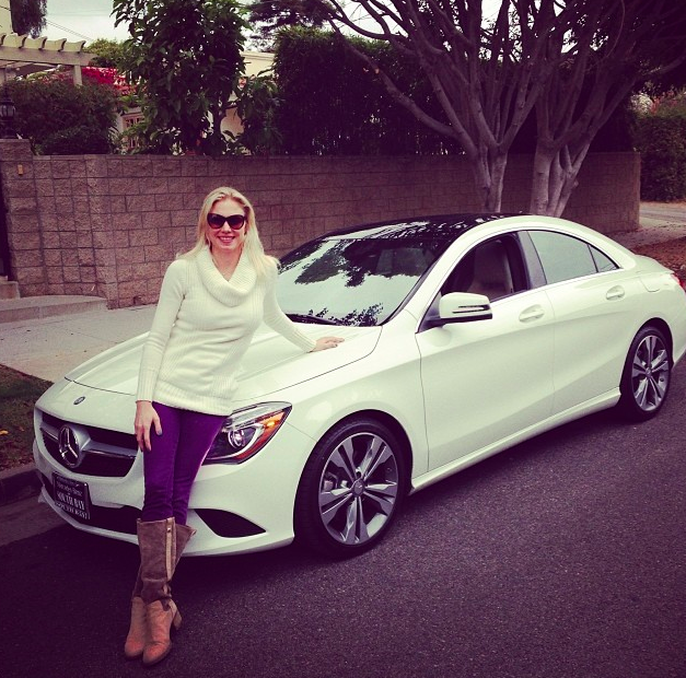 Mercedes Benz CLA Mary Rambin