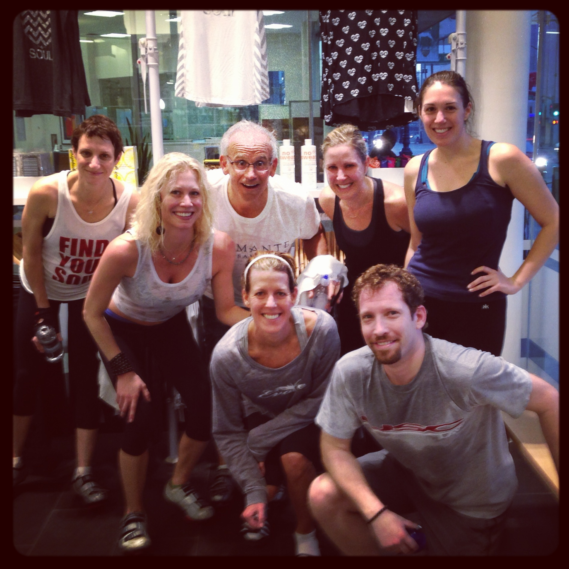 Mary Rambin SOULCYCLE BVHL 6am crew