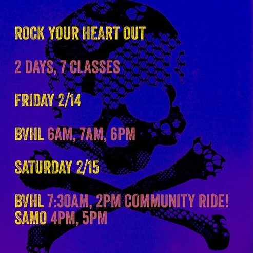 MARY RAMBIN SOULCYCLE FEBRUARY