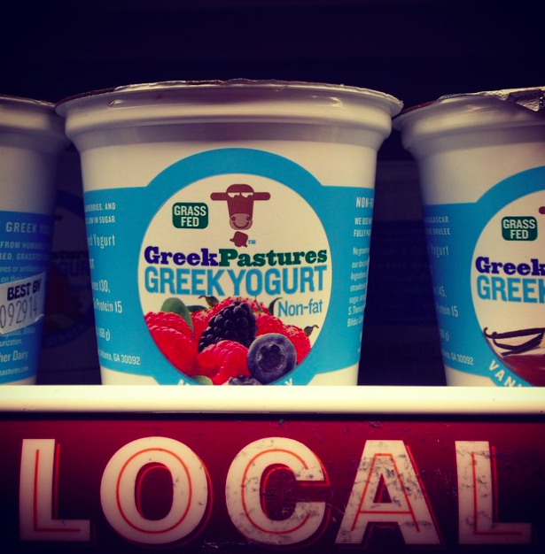 Greek Pastures Yogurt