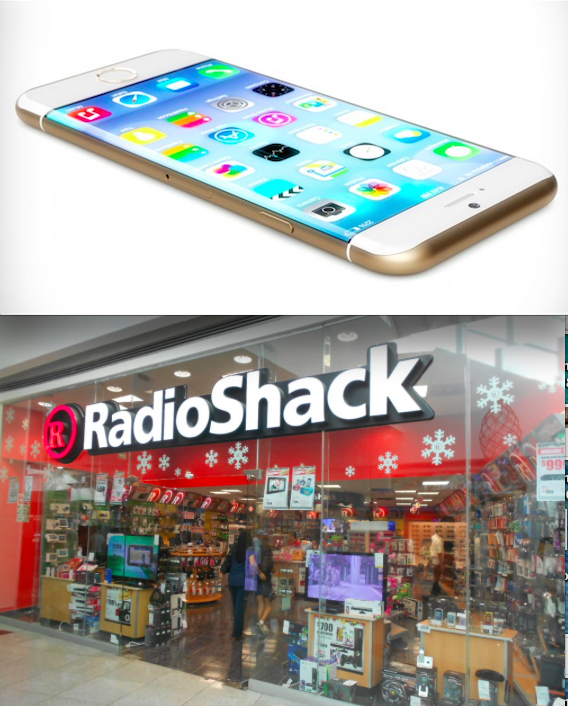 iPhone 6 at Radio Shack