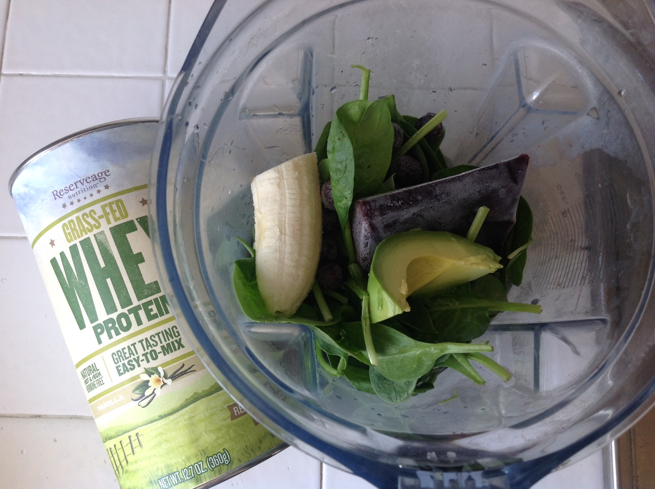 smoothie with protein