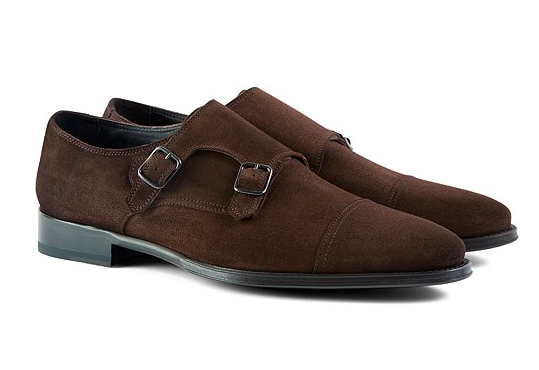 SuitSupply Double Monkstrap Shoe