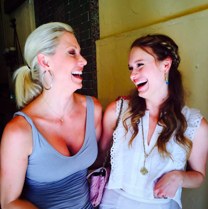 Mary Rambin and Leven Rambin 2015