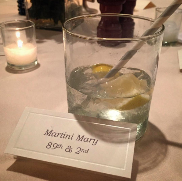 Martini Mary Place Card